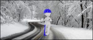 E-Scooter im Winter