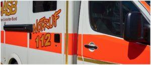Rettung 112 Notruf Symbolbild