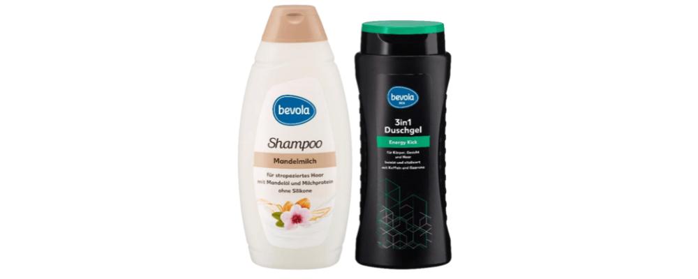 Kaufland Rückruf: Bevola Shampoo Mandelmilch und Bevola Men 3in1 Duschgel Energy Kick