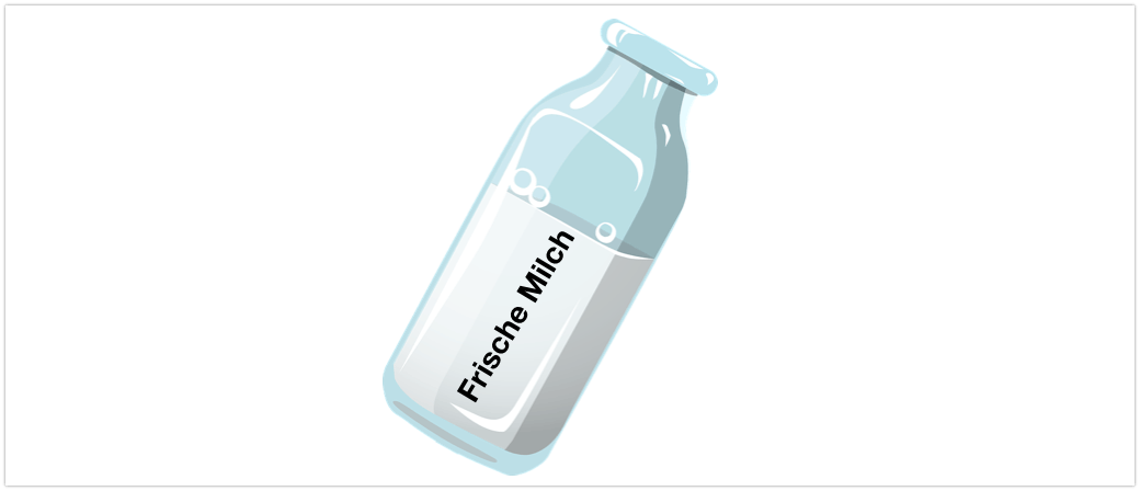 Symbolbild Frische Milch