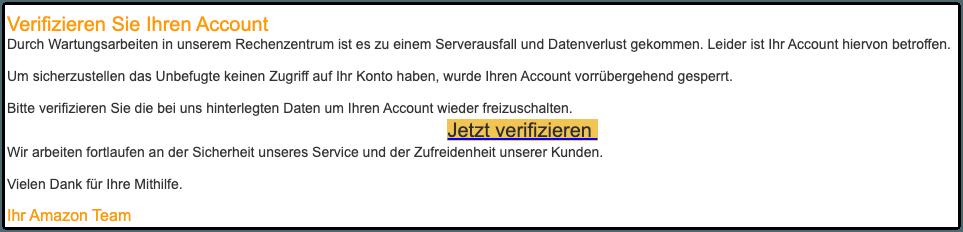 2019-11-06 Phishing Amazon