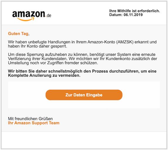 2019-11-07 Phishing Amazon