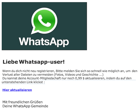 2019-11-20 Phishing WhatsApp