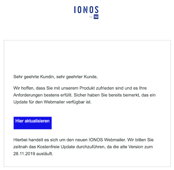 2019-11-22 Phishing IONOS