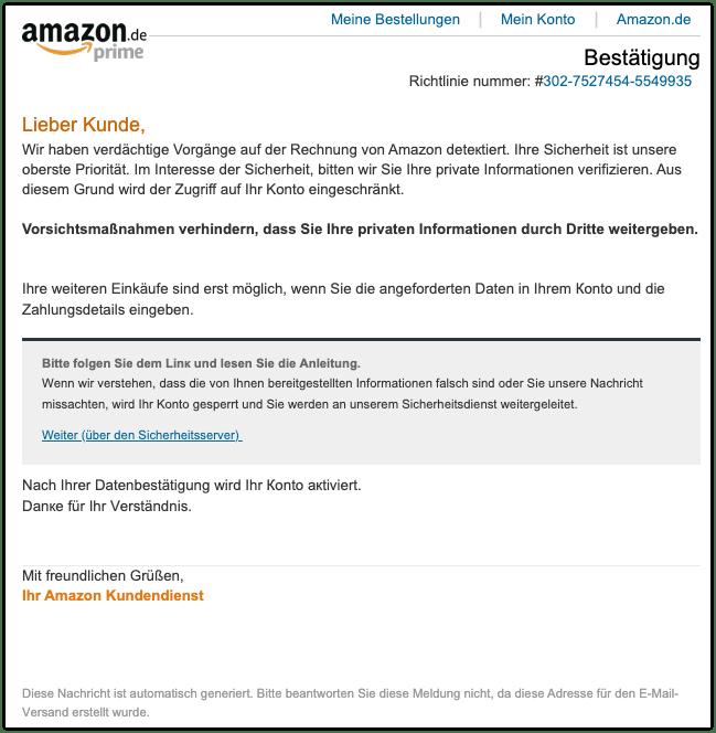 2019-12-13 Phishing Amazon