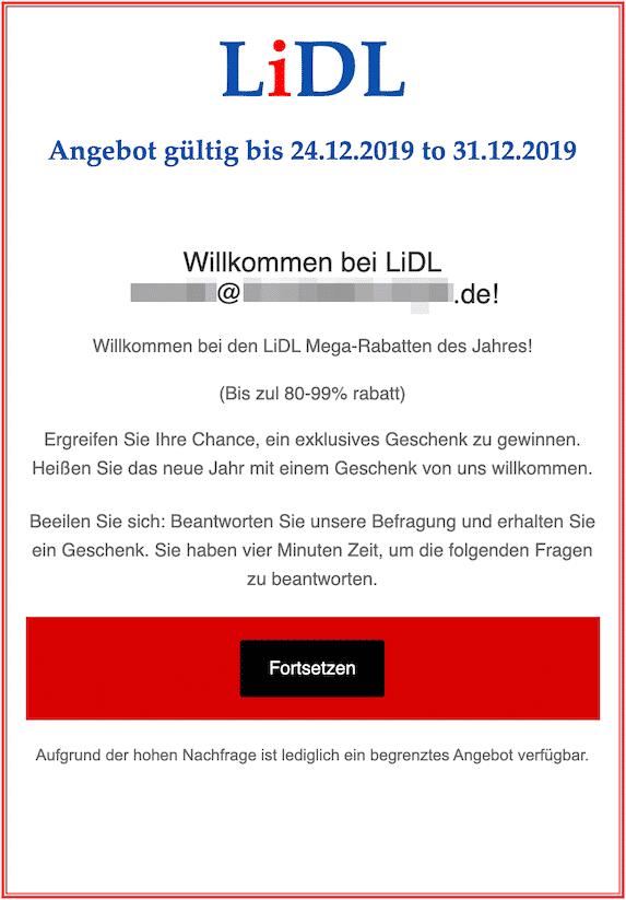 2019-12-26 Gutschein Lidl