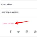 Fitbit Account löschen 2