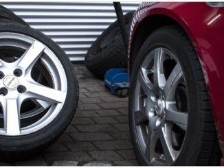 Reifen Auto PKW Symbolbild