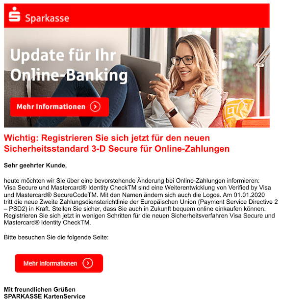2019-12-11 Phishing Sparkasse