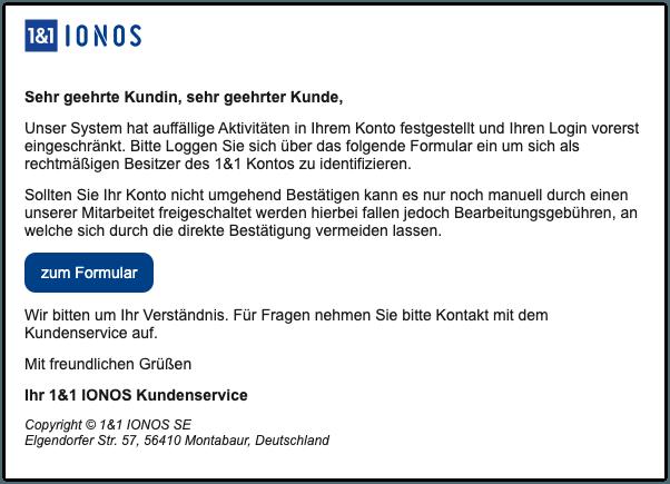 2019-12-20 1und1 IONOS Spam-Mail Systemnachricht 1und1