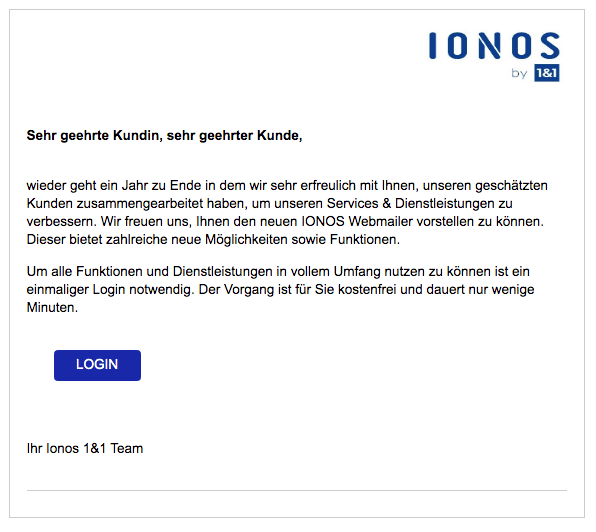 2019-12-21 1und1 IONOS Spam-Mail Information