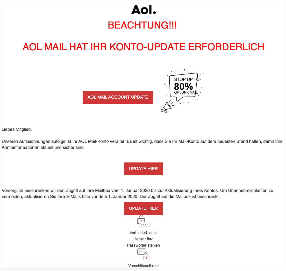 2019-12-23 AOL Phishing