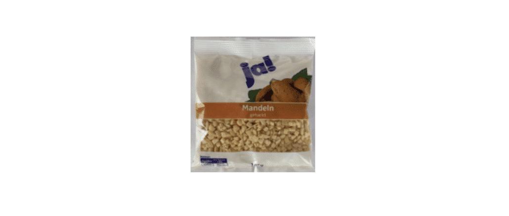 2019-12-25 Rückruf Mandeln gehackt Rewe
