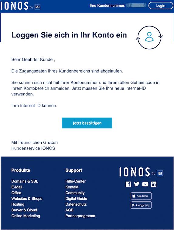 2020-01-01 Phishing IONOS