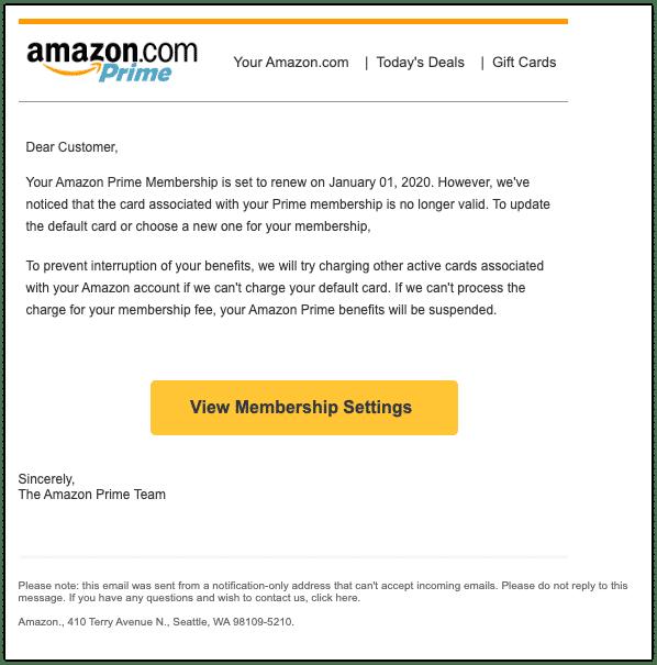 2020-01-02 Amazon Spam-Mail Transaction Payment Decline