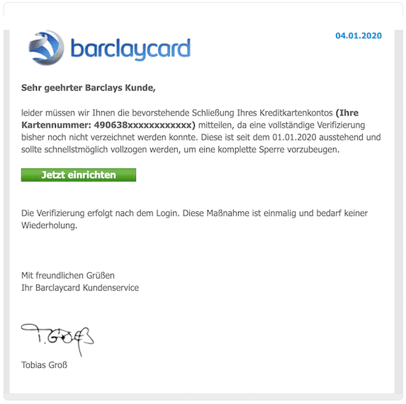 2020-01-04 Phishing Barclay