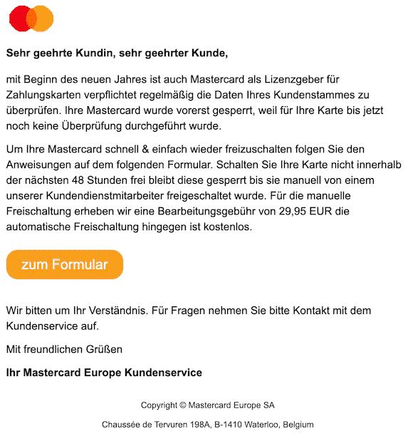 2020-01-10 Phishing Mastercard