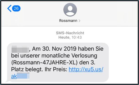 Rossmann Kettenbrief Abofalle