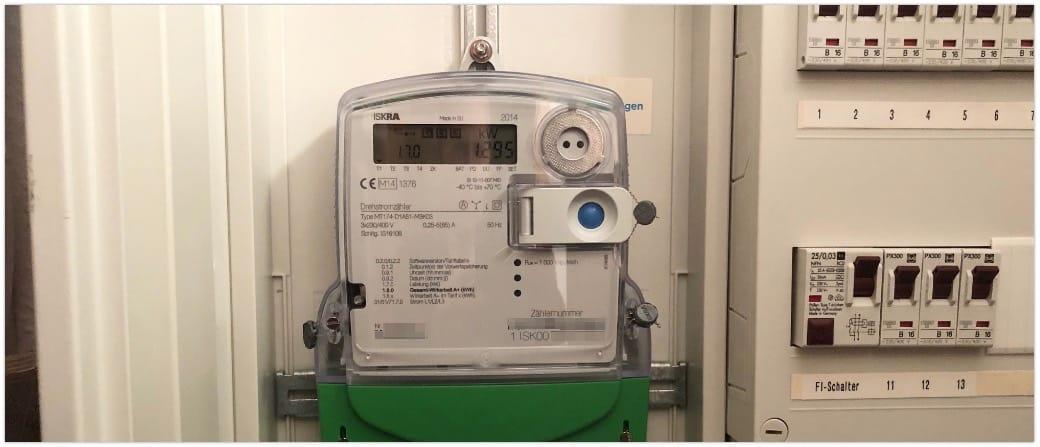 Smart Meter Stromzähler Symbolbild