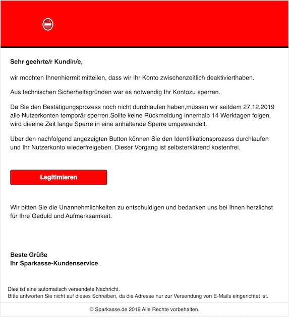2020-01-09 Phishing Sparkasse