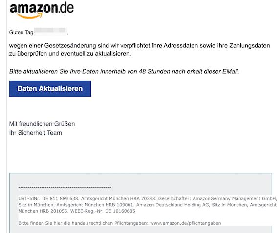 2020-01-10 Amazon Phishing