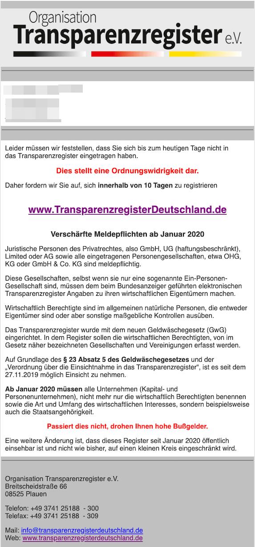2020-01-21 Verst GwG
