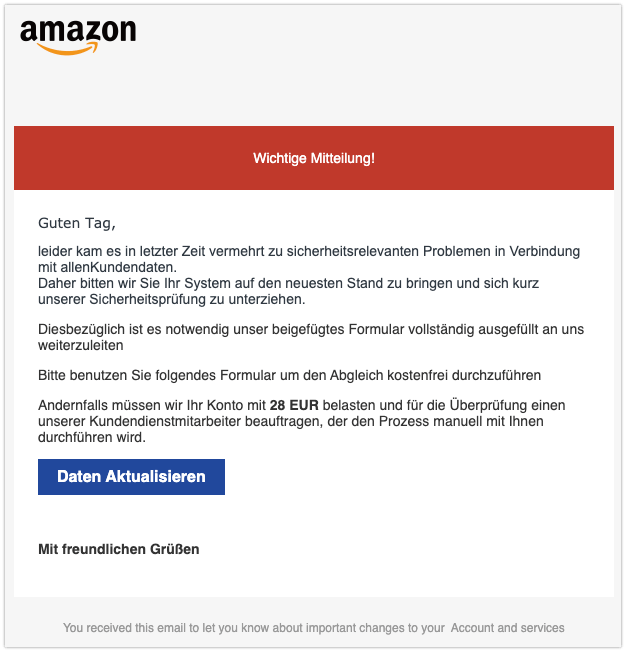 2020-01-23 Phishing Amazon