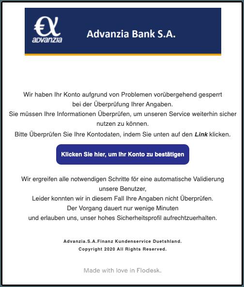 2020-01-28 Phishing Advanzia