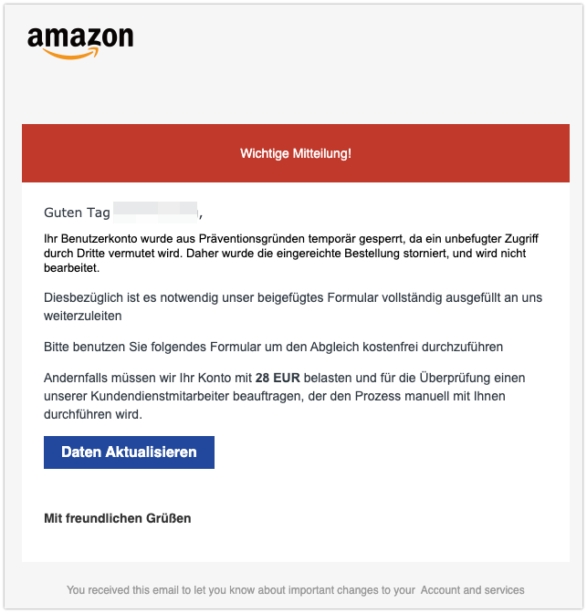 2020-01-28 Phishing Amazon