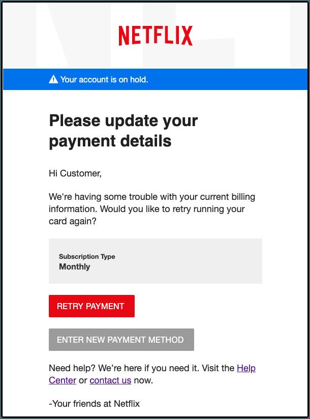 2020-01-29 Phishing Netflix