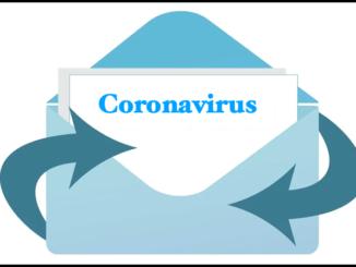 Symbolbild Datei Message E-Mail Anhang Coronavirus
