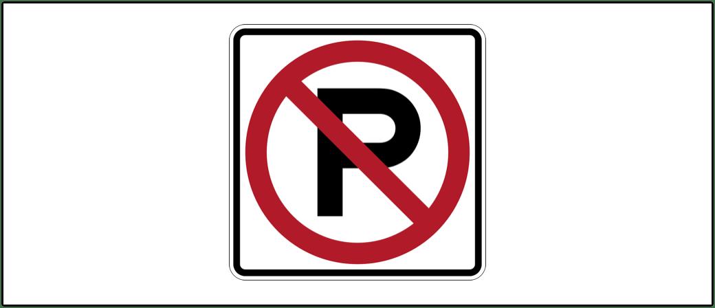 Symbolbild Falschparker, kein Parkplatz, Parkverbot