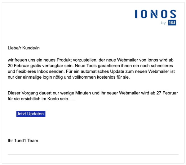 2020-02-25 1und1 IONOS Spam Mail Fake Webmailer Pro