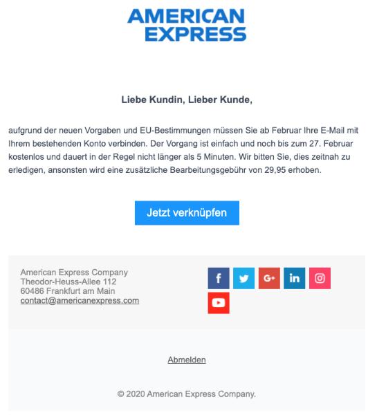2020-02-26 American Expres Spam Phishing