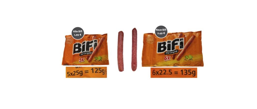 2020-02-27 Bifi Salami wird teurer