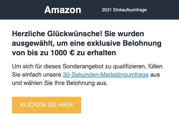 2021-05-31 Amazon Gutschein