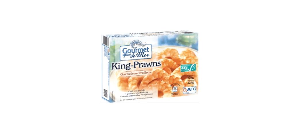 Aldi Nord Rückruf Gourmet Fruits de Mer King Prawns Garnelenschwänze