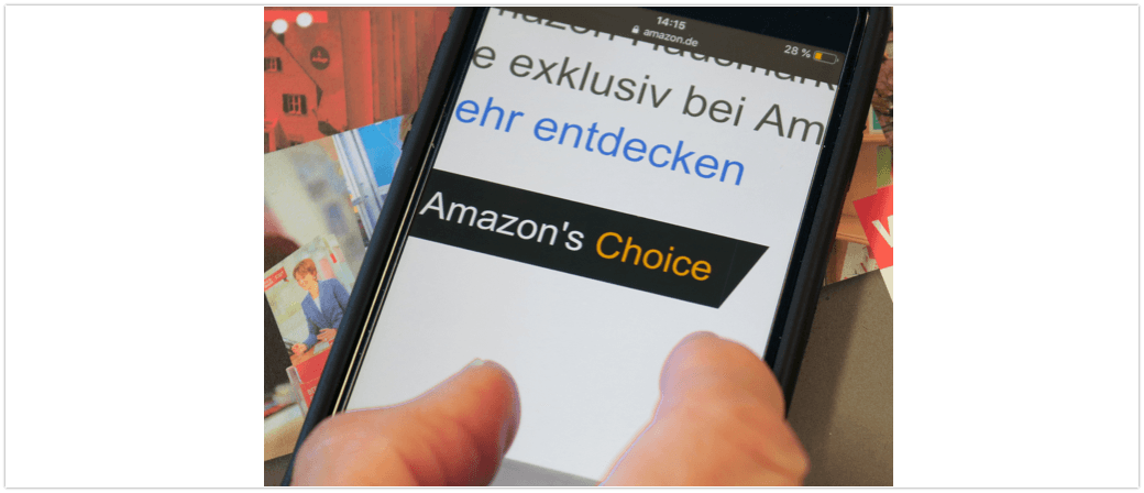 Amazons Choice Kritik Verbraucherzentrale
