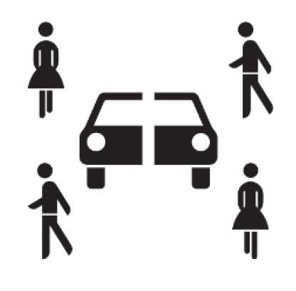 Carsharing Sinnbild Zusatzzeichen