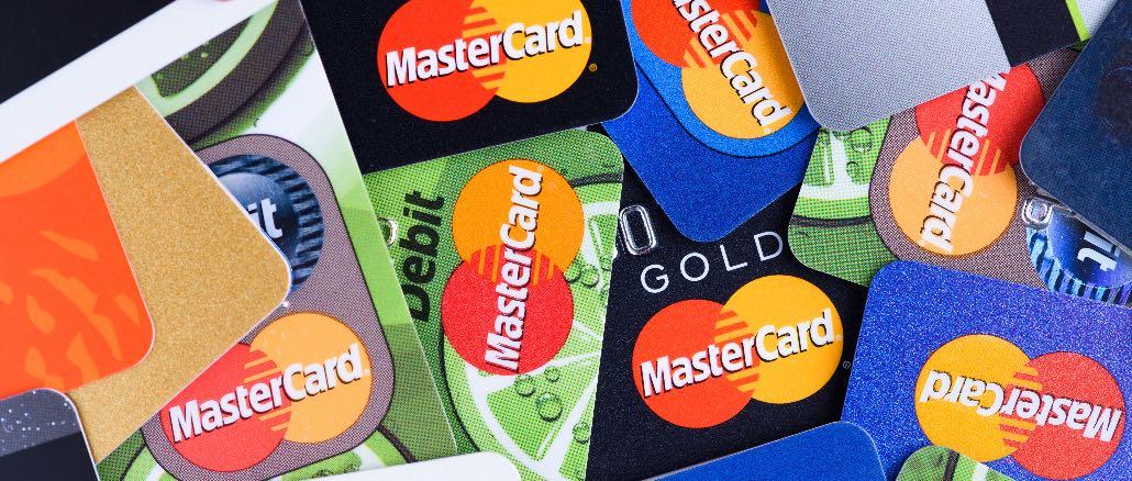 Mastercard Kreditkarte Symbolbild