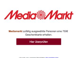 MediaMarkt Fake Mails Sammlung