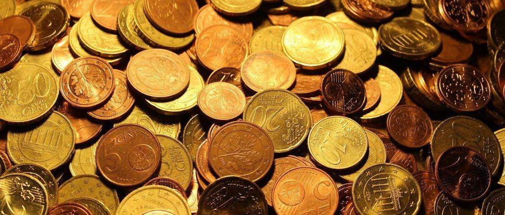 Münzen Kleingeld Symbolbild