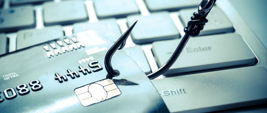 Phishing Kreditkarte Geld Bank Symbolbild