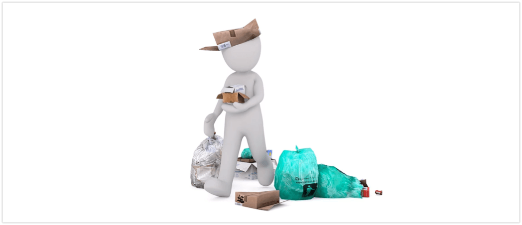 Symbolbild Müll, Abfall, Entsorgung