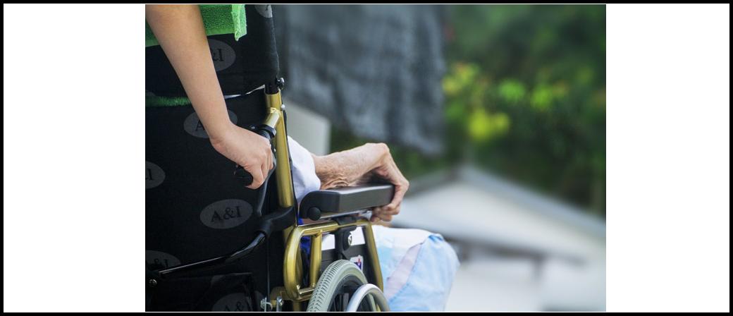 Symbolbild Rollstuhl, Alt, Krankheit