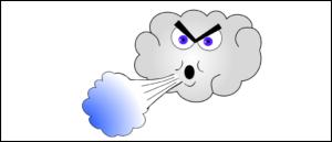 Symbolbild Wolke Wind Sturm Orkan