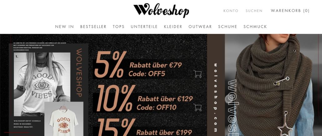 wolveshop-com Bewertungen Erfahrungen Probleme