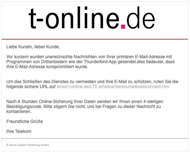 2020-03-09 t-Online-de Spam Fake-Mail Bestaetigung der E-Mail-Adresse empfohlen