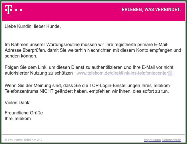 2020-03-11 Phishing Telekom