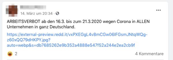 Arbeitsverbot Deutschland